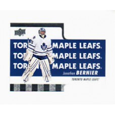 TH-3 Jonathan Bernier Diecuts Insert Set Tim Hortons 2015-2016 Collector's Series