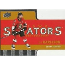 TH-4 Erik Karlsson Diecuts Insert Set Tim Hortons 2015-2016 Collector's Series