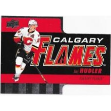 TH-6 Jiri Hudler Diecuts Insert Set Tim Hortons 2015-2016 Collector's Series