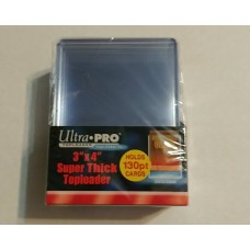 Ultra Pro  - 1 Pack of 10 - 130pt 3x4 Top Loader