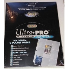 Ultra Pro - 100  Pages of Platinum Series 9 Pockets Binder Sheets