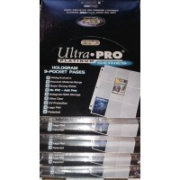 Ultra Pro - 500 Pages of Platinum Series 9 Pockets Binder Sheets (5 Boxes)