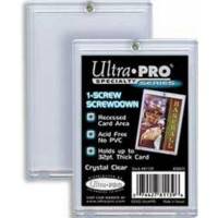 Ultra Pro  - Box of 25 Screw down 3x5 Hard Plastic Card Holder