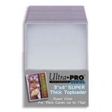 Ultra Pro  - 1 Pack of 25 - 75pt 3x4 Top Loader
