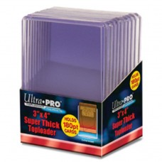 Ultra Pro  - 1 Pack of 10 - 180pt 3x4 Top Loader