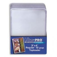 Ultra Pro  - 1 Pack of 25 - Regular 3x4 Top Loaders
