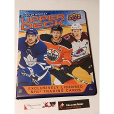 2020-21 Upper Deck Series 1 One Binder 14x 9page sheets inside