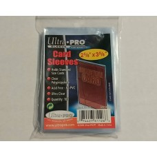 Ultra Pro  - 1 Pack of 100 - Card Soft Sleeves