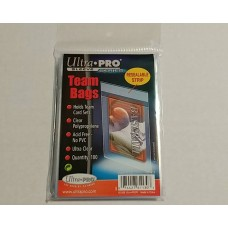 Ultra Pro  - 1 Pack of 100 - Resealable Team Bags