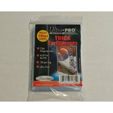 Ultra Pro  - 1 Pack of 100 - Extra Thick Card Soft Sleeves