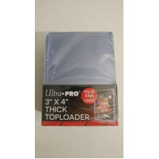 Ultra Pro  - 1 Pack of 25 - 55pt 3x4 Top Loader