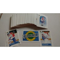 1991 Ultimate French Premier Edition Complete Set 90 Cards Inc. Peter Forsberg