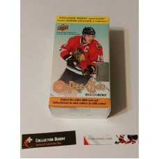 2012-13 UD O-Pee-Chee OPC Factory Sealed Blaster Box 10 Packs of 6 Cards