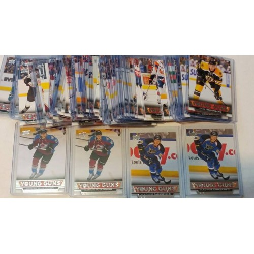 2013-14 Upper Deck Series 1 One 201-250 Young Guns YG RC