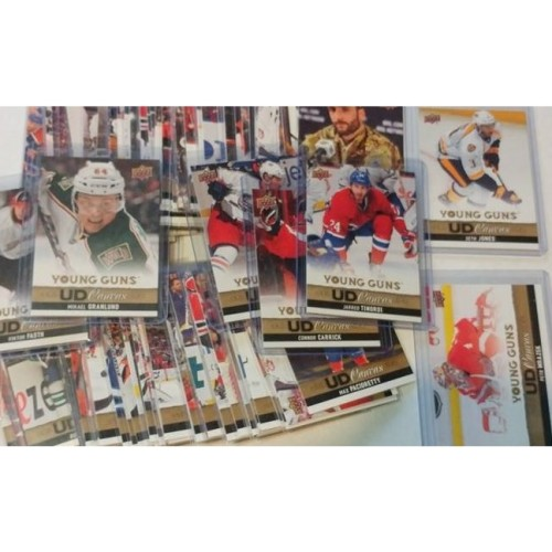 2013-14 Upper Deck Series 1 One UD Canvas C1-C120 Young