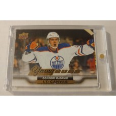 2015-16 Upper Deck Series 2 UD Canvas C211 Connor McDavid Young Guns YG Rookie Card RC