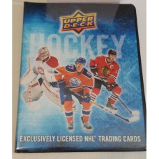 2016-17 Upper Deck Series 1 One Binder 14x 9page sheets inside