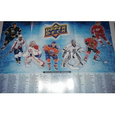2016-17 Upper Deck Series 1 One Poster Checklist