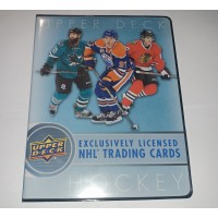 2017-18 Upper Deck Series 1 One Binder 14x 9page sheets inside