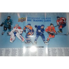 2017-18 Upper Deck Series 1 One Poster Checklist