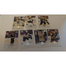 2018-19 Upper Deck Series 1 Base Team Set 13-19 Boston Bruins