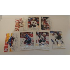 2018-19 Upper Deck Series 1 Base Team Set 44-50 Colorado Avalanche