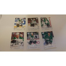2018-19 Upper Deck Series 1 Base Team Set 58-63 Dallas Stars