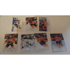2018-19 Upper Deck Series 1 Base Team Set 70-76 Edmonton Oilers