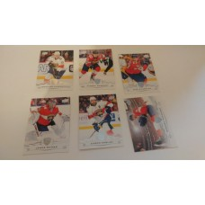 2018-19 Upper Deck Series 1 Base Team Set 77-82 Florida Panthers