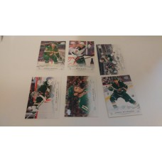 2018-19 Upper Deck Series 1 Base Team Set 89-94 Minnesota Wild