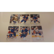 2018-19 Upper Deck Series 1 Base Team Set 114-119 New York Islanders