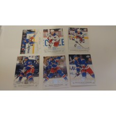 2018-19 Upper Deck Series 1 Base Team Set 120-125 New York Rangers