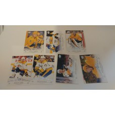 2018-19 Upper Deck Series 1 Base Team Set 101-107 Nashville Predators