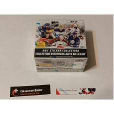 2019-20 Topps NHL Sticker Collection Factory Sealed Box 50 Packs of 5 Cards