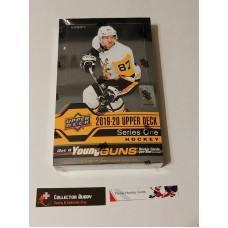 2019-20 UD Upper Deck Series 1 Factory Sealed Hobby Box 24 Packs of 8 Cards