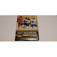 2019-20 Upper Deck Series 1 One Binder 14x 9page sheets inside