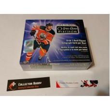 2019-20 UD O-Pee-Chee OPC Platinum Factory Sealed Hobby Box 20 Packs of 4 Cards