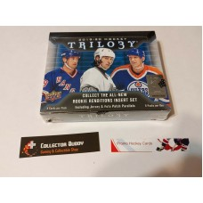 2019-20 UD Upper Deck Trilogy Factory Sealed Hobby Box 6 Packs of 4 Cards