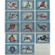 All 14 Above the Ice  Complete Insert Set Tim Hortons 2015-2016 Collector's Series