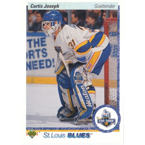 Curtis Joesph RC 1990-91 Upper Deck #175 90-91 90/91Blues