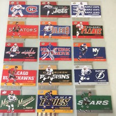 TH-1-15 Complete Diecuts Insert Set Tim Hortons 2015-2016 Collector's Series