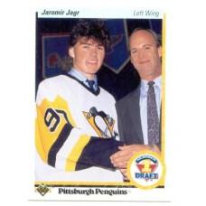 Jaromir Jagr RC 1990-91 Upper Deck #356 90-91 90/91Blues Rookie Card UD