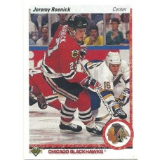 Jermey Roenick RC 1990-91 Upper Deck #63 90-91 90/91 Hawks Rookie Card