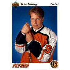 Peter Forsberg RC 1991-92 UD Upper Deck #64 91-92 91/92 Rookie Card
