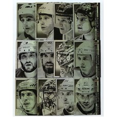 PP SS1-12 Platinum Profiles Complete Insert Set Tim Hortons 2015-2016 Collector's Series