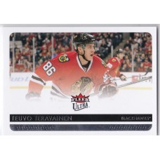 Teuvo Teravanien RC 2014-15 Fleer Ultra Rookie Card #28 14-15 14/15